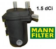 Filtru combustibil MANN FILTER Renault Clio-Megane 1.5 DCI
